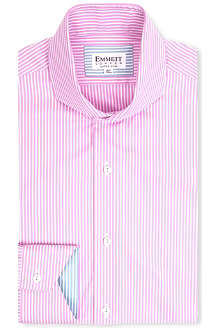 EMMETT LONDON St James Oxford stripe shirt