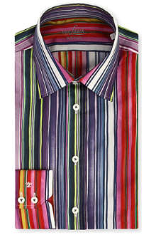 VAN LAACK Striped cotton shirt
