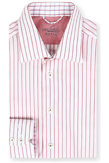VAN LAACK Ret spread-collar single-cuff shirt