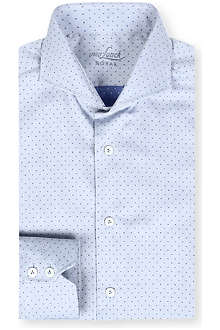 VAN LAACK Slim-fit cutaway collar shirt
