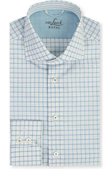 VAN LAACK Checked cotton shirt