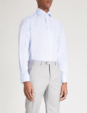 SMYTH & GIBSON Cutaway cotton shirt