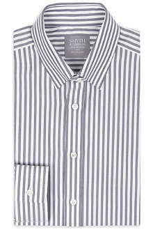SMYTH & GIBSON Oxford wide stripe shirt