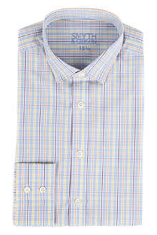 SMYTH & GIBSON Tutti tailored-fit single-cuff shirt