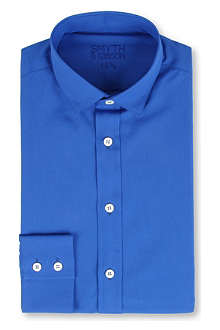 SMYTH & GIBSON Bright cotton-poplin shirt