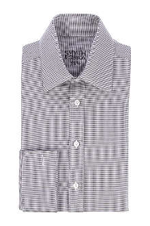 SMYTH & GIBSON Double-cuff chevron shirt