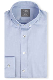 SMYTH & GIBSON Slim-fit cotton shirt