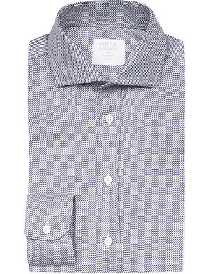 SMYTH & GIBSON Zigzag tailored-fit cotton shirt