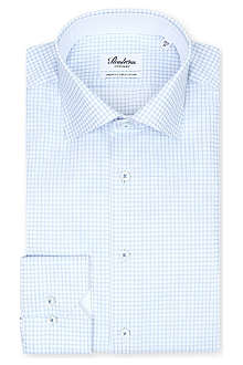 STENSTROMS Classic check cotton shirt