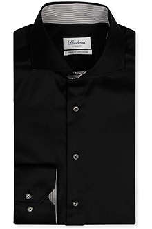 STENSTROMS Fitted single-cuff shirt