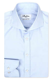 STENSTROMS Royal Oxford slimline single-cuff shirt