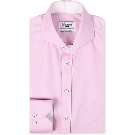 STENSTROMS Slim-fit single-cuff shirt (Pink