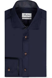 STENSTROMS Two-fold super-cotton shirt