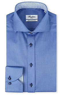 STENSTROMS Basketweave slim-fit shirt