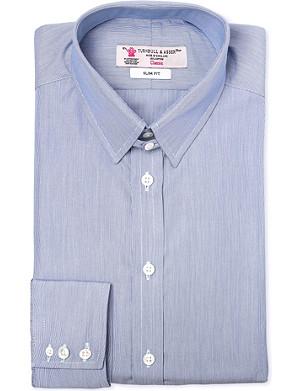 TURNBULL & ASSER Slim-fit cotton shirt