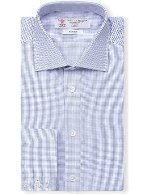 TURNBULL & ASSER Regent slim-fit cotton shirt