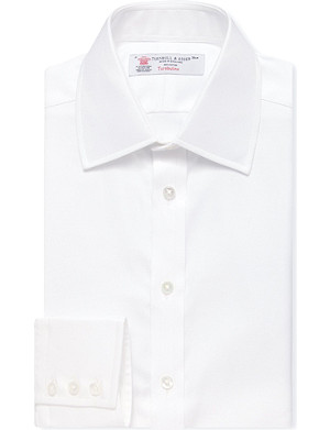 TURNBULL & ASSER Regular-fit French-cuff shirt