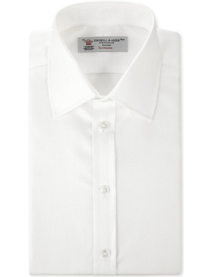 TURNBULL & ASSER Regular-fit French-cuff shirt