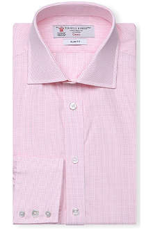 TURNBULL & ASSER Regent slim-fit cotton shirt
