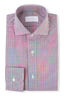 LANDINI Agnelli regular-fit single-cuff shirt