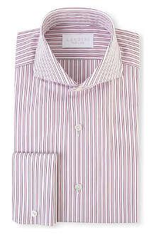LANDINI Duke regular-fit double cuff shirt