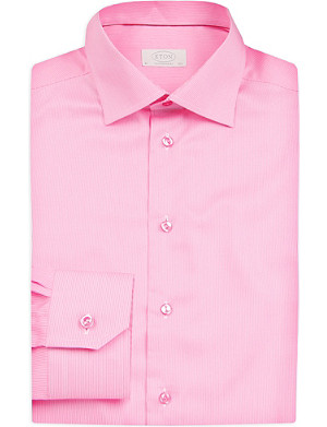 ETON Pinstripe cotton shirt