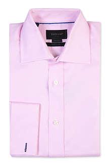 DUCHAMP Iconic fine-twill cotton shirt