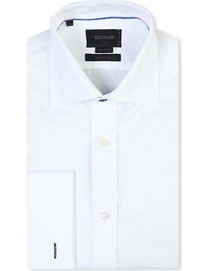 DUCHAMP Iconic fine-twill cotton shirt