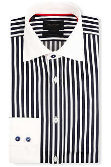 DUCHAMP Striped tailored-fit shirt