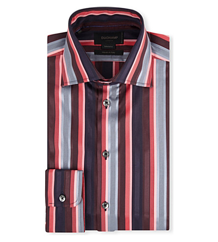 DUCHAMP Admirial striped shirt (Como