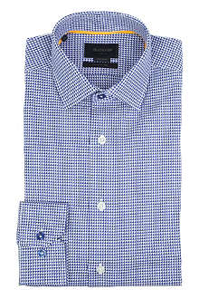 DUCHAMP Palm Triangle tailored-fit single-cuff shirt