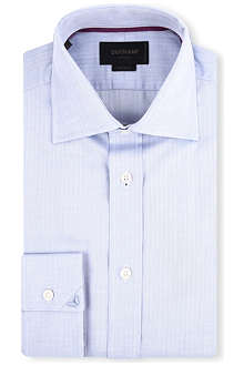 DUCHAMP Mini herringbone shirt