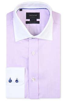 DUCHAMP Iconic herringbone cotton shirt