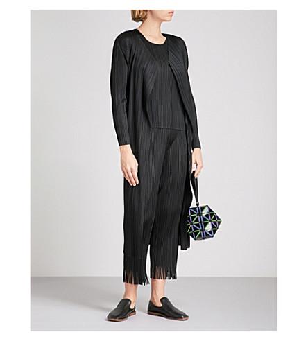 PLEATS PLEASE ISSEY MIYAKE Basics pleated coat (Black