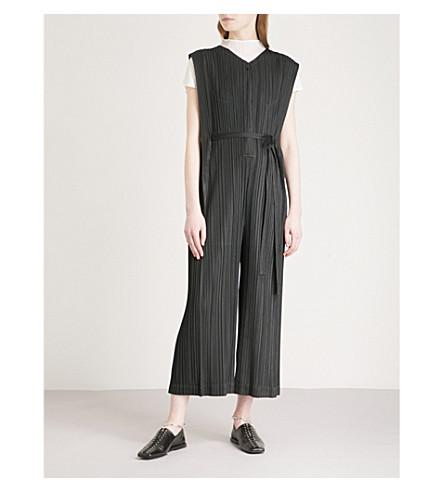 PLEATS PLEASE ISSEY MIYAKE Mellow pleated jumpsuit (Black