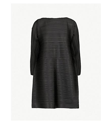 PLEATS PLEASE ISSEY MIYAKE Edgy Bounce pleated tunic (Black