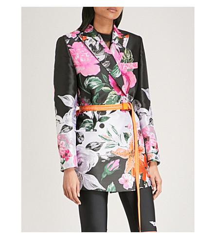 OFF-WHITE C/O VIRGIL ABLOH Floral-jacquard jacket (Multi