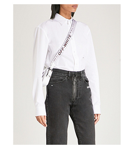 OFF-WHITE C/O VIRGIL ABLOH Basic cotton shirt (White