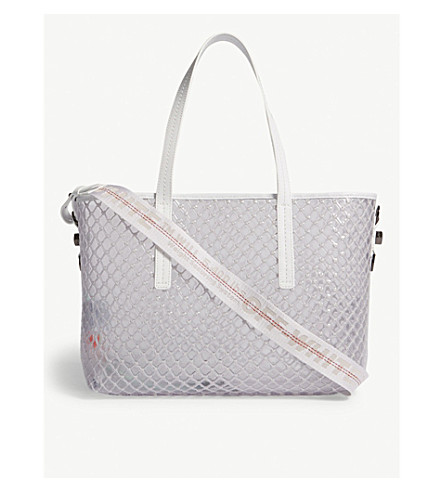 372eac40a851 ... OFF-WHITE C O VIRGIL ABLOH PVC tote bag (White. PreviousNext