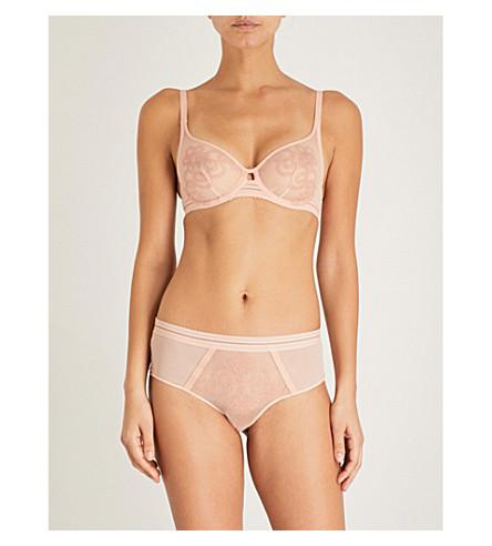 SIMONE PERELE Lima stretch-tulle underwired full-cup bra (Ballerina