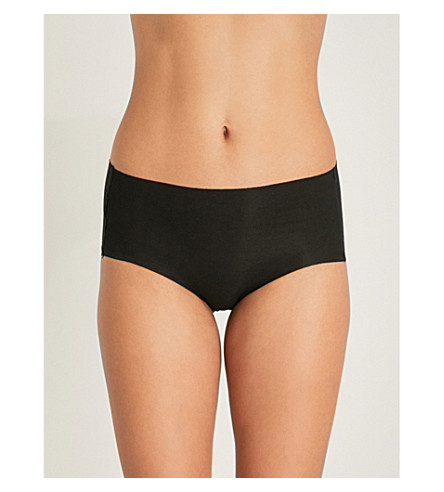 WACOAL Beyond Naked stretch-cotton hipster briefs (Black