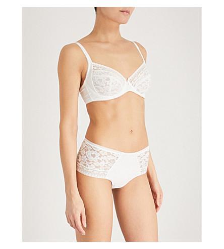 WACOAL Eternal full-cup lace bra White jasmin Cheap Sale Fashion Style Free Shipping Real u4aj6