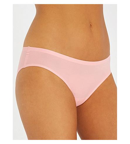 CHANTELLE Soft Stretch seamless jersey briefs (Pink+lemonade
