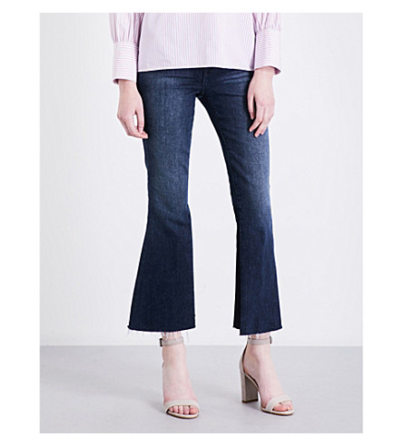 FRAME Le Crop flared cropped high-rise jeans (Ranger