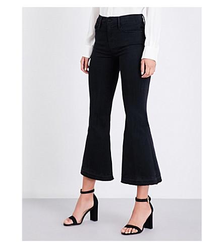 FRAME Le Crop flared high-rise jeans (Garvey
