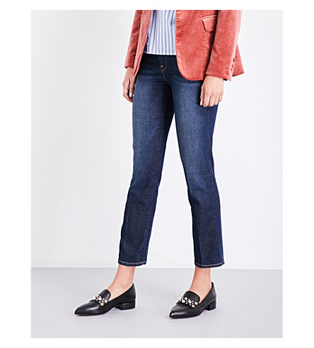 FRAME Le High straight cropped high-rise jeans (Woodson