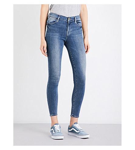 FRAME Le High Skinny high-rise jeans (Clinton