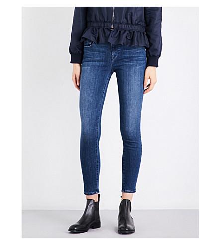 FRAME Le Skinny de Jeanne skinny mid-rise jeans (Rockbridge