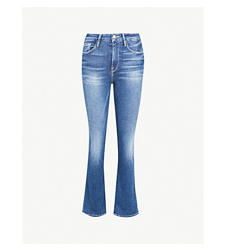 FRAME Le Crop flared mid-rise jeans (Bagmore