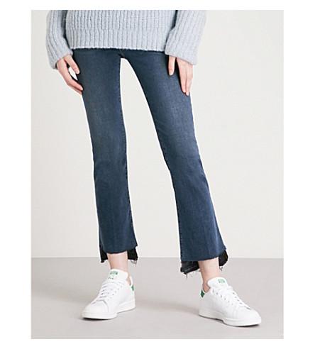 FRAME Le Crop Mini Boot released-hem kick-flare high-rise jeans (Fenwick